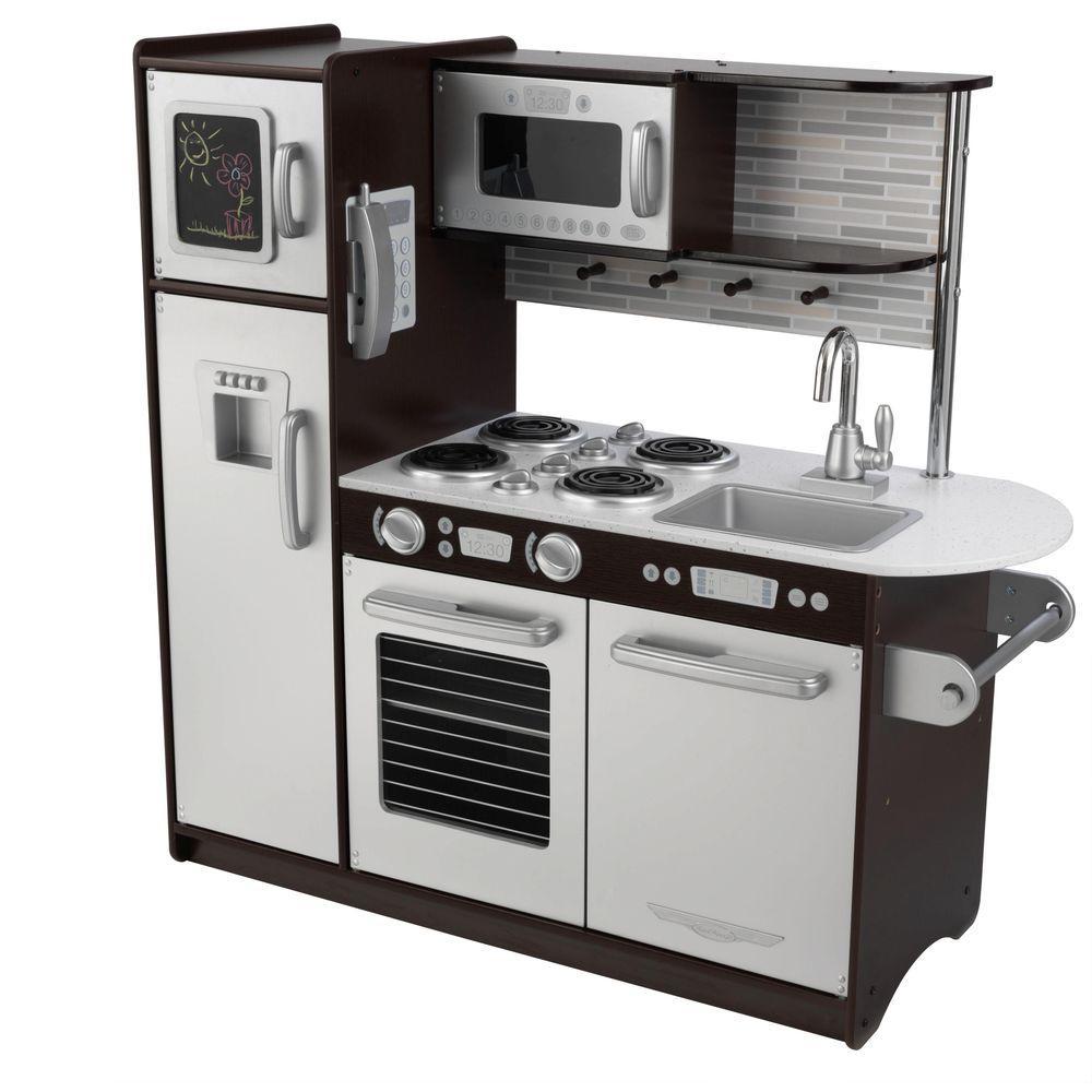 KidKraft Uptown Espresso Kitchen Playset53260  The Home