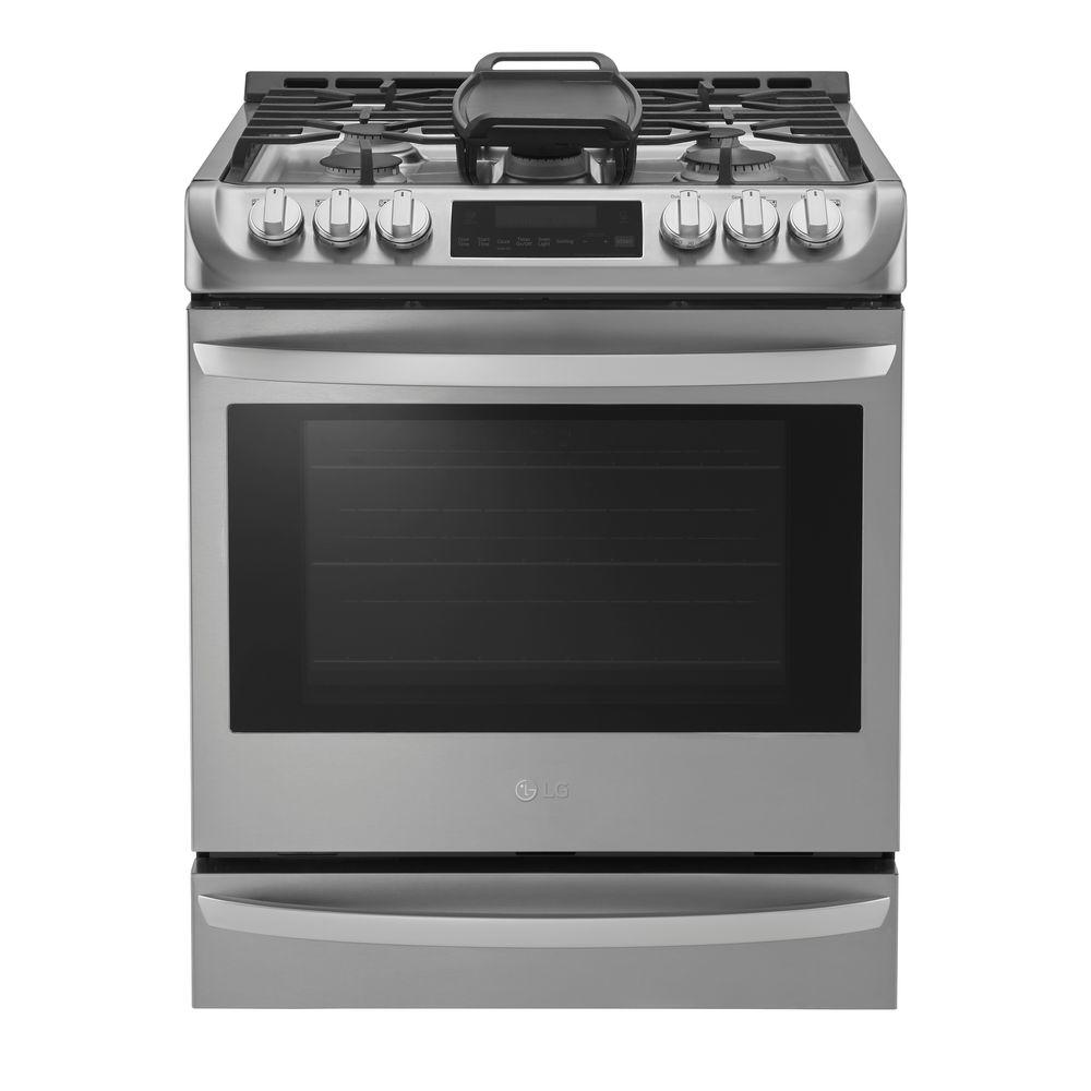 kitchen stove gas images of outdoor kitchens slide in ranges appliances the home depot 6 3