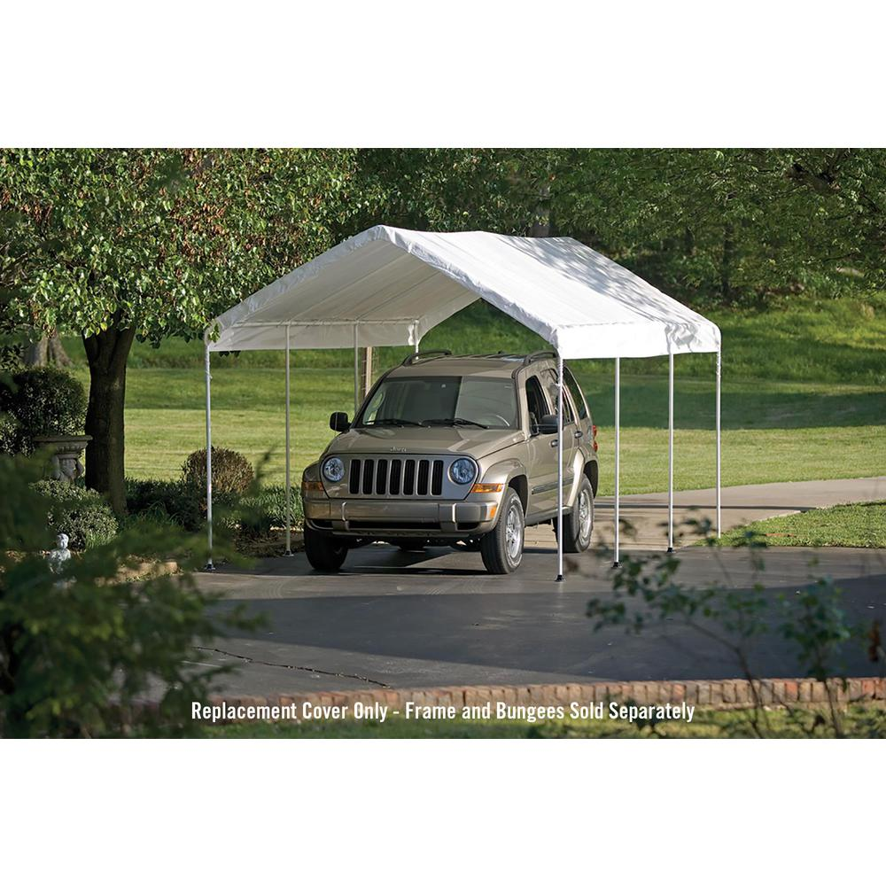 Shelterlogic 10 Ft W X 20 Ft D Max Ap Canopy Replacement Cover