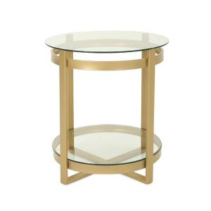 steve silver dylan sofa table best home furnishings power reclining merlot cherry end dy300e the depot solidago round clear tempered glass coffee with brass iron frame