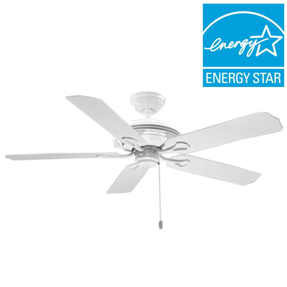 Hunter Mariner 52 in. Indoor/Outdoor White Ceiling Fan