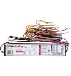 ge 120 to 277 volt electronic program start ballast for 4 ft 4  [ 1000 x 1000 Pixel ]