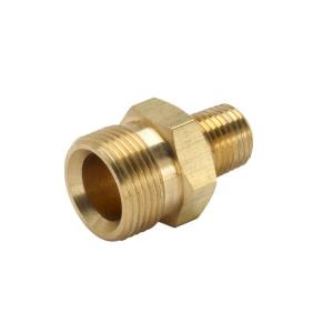 Power Care 38 In Male NPT X Male M22 Pressure Washer Hose To Trigger Coupler AP31085 The