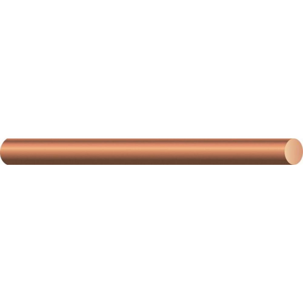 hight resolution of southwire by the foot 10 gauge solid sd bare copper grounding wire 10626090 the home depot