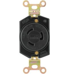 eaton hart lock industrial grade 20 amp 125 volt receptacle with safety grip  [ 1000 x 1000 Pixel ]