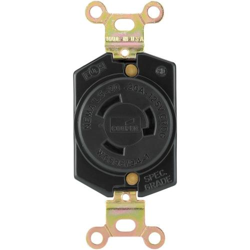 small resolution of eaton hart lock industrial grade 20 amp 125 volt receptacle with safety grip