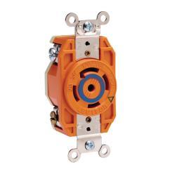 leviton 30 amp 120 208 volt 3 phase flush mounting isolated ground locking [ 1000 x 1000 Pixel ]