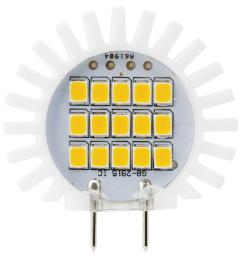 meridian 25w equivalent soft white g8 dimmable led replacement light bulb [ 1000 x 1000 Pixel ]