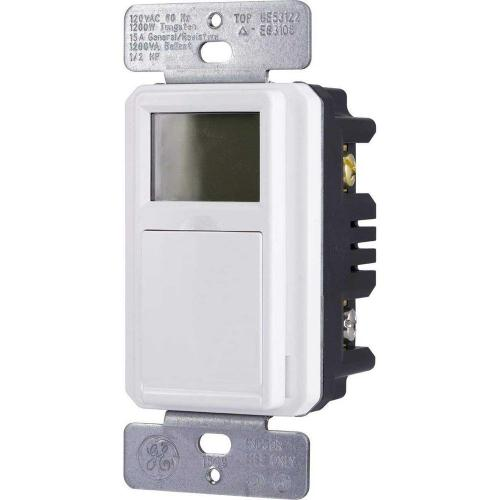small resolution of ge 7 day programmable indoor outdoor in wall digital timer 32787 wiring diagram for defiant timer defiant 20amp 7day 7event inwall