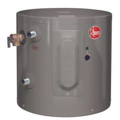 Ruud Electric Water Heater Wiring Diagram Softener Operation Rheem Performance 6 Gal. Year 2000-watt Single Element Point-of-use ...