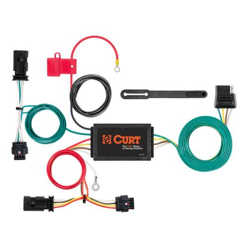 small resolution of custom wiring harness 4 way flat output