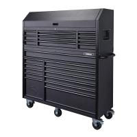 Husky 56 in. 23-Drawer Tool Chest and Rolling Cabinet Set ...