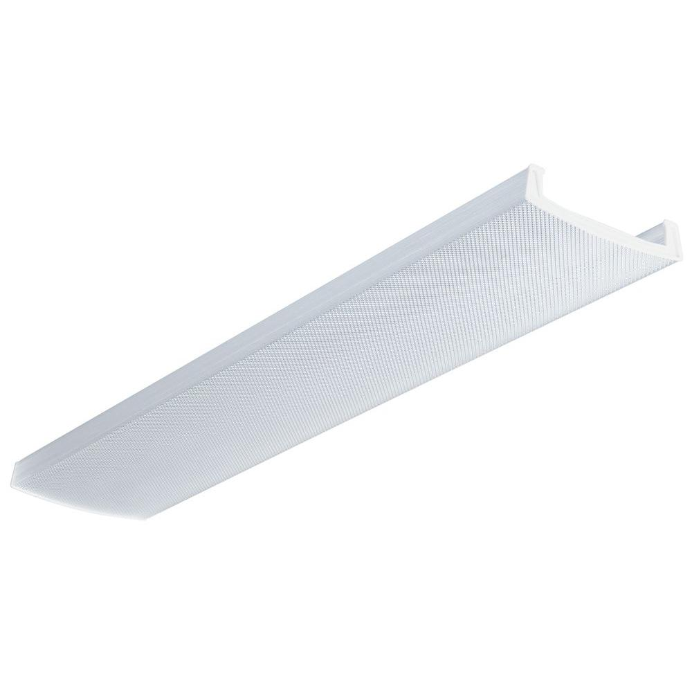 Lithonia Lighting LB 4 in x 12 in Clear Wraparound
