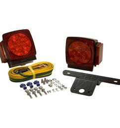 led submersible trailer lamp kit for under 80 in applications [ 1000 x 1000 Pixel ]