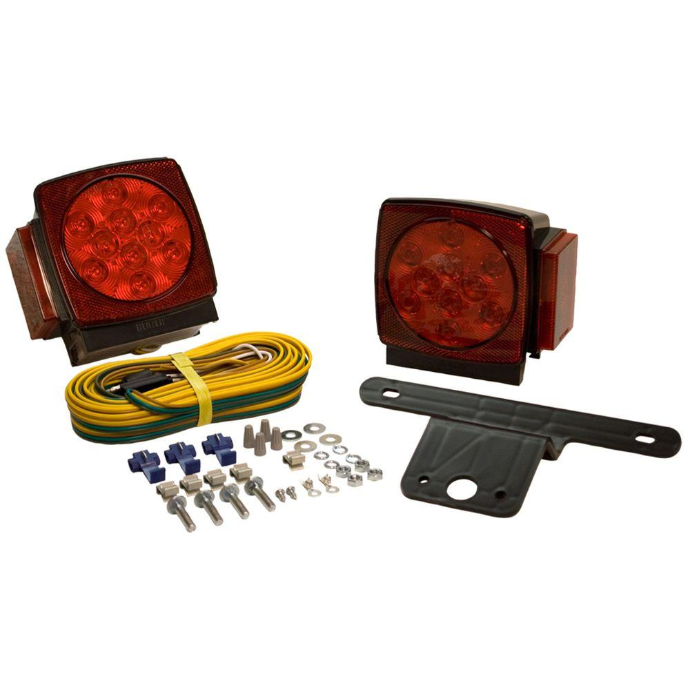 hight resolution of led submersible trailer lamp kit for under 80 in applications