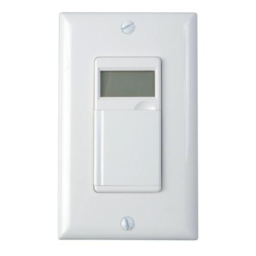 small resolution of woods 6 4 amp 7 day in wall programmable indoor digital timer switch light switch timer without neutral wire light switch timer no neutral wire