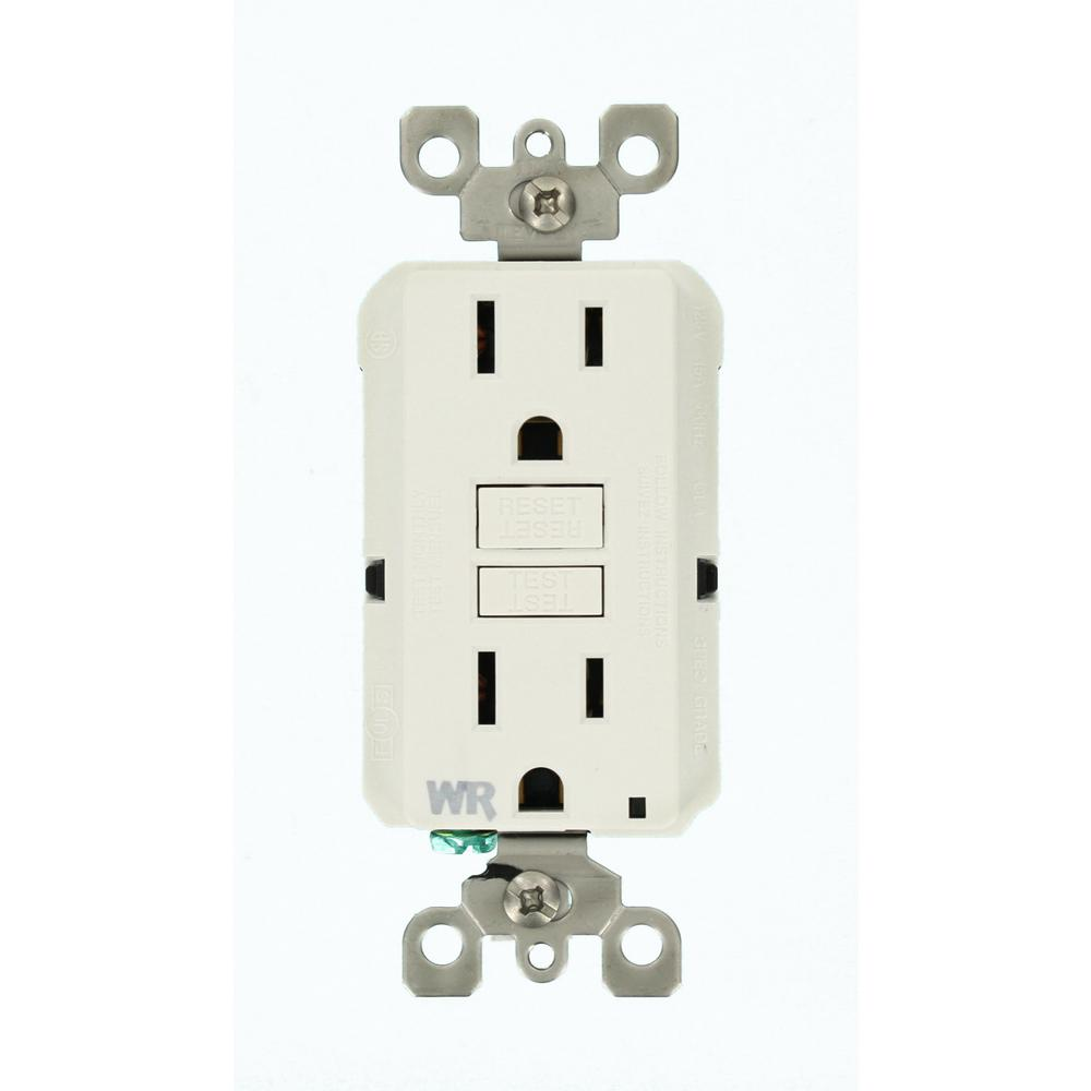 hight resolution of 15 amp smartlockpro weather resistant gfci outlet white