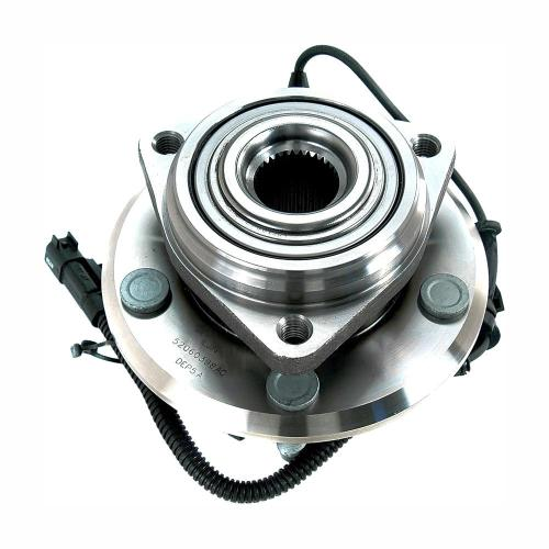 small resolution of front wheel bearing and hub assembly fits 2007 2011 jeep wrangler