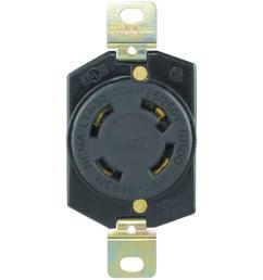 eaton 30 amp 125 250 volt hart lock industrial grade receptacle shop cooper wiring devices 125 250volt 30amp black locking locking [ 1000 x 1000 Pixel ]