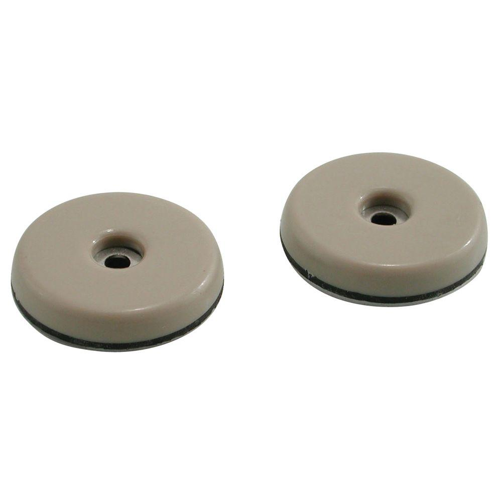 patio chair replacement glides nailhead accent shepherd 7 8 in adhesive furniture pack 9456 the home