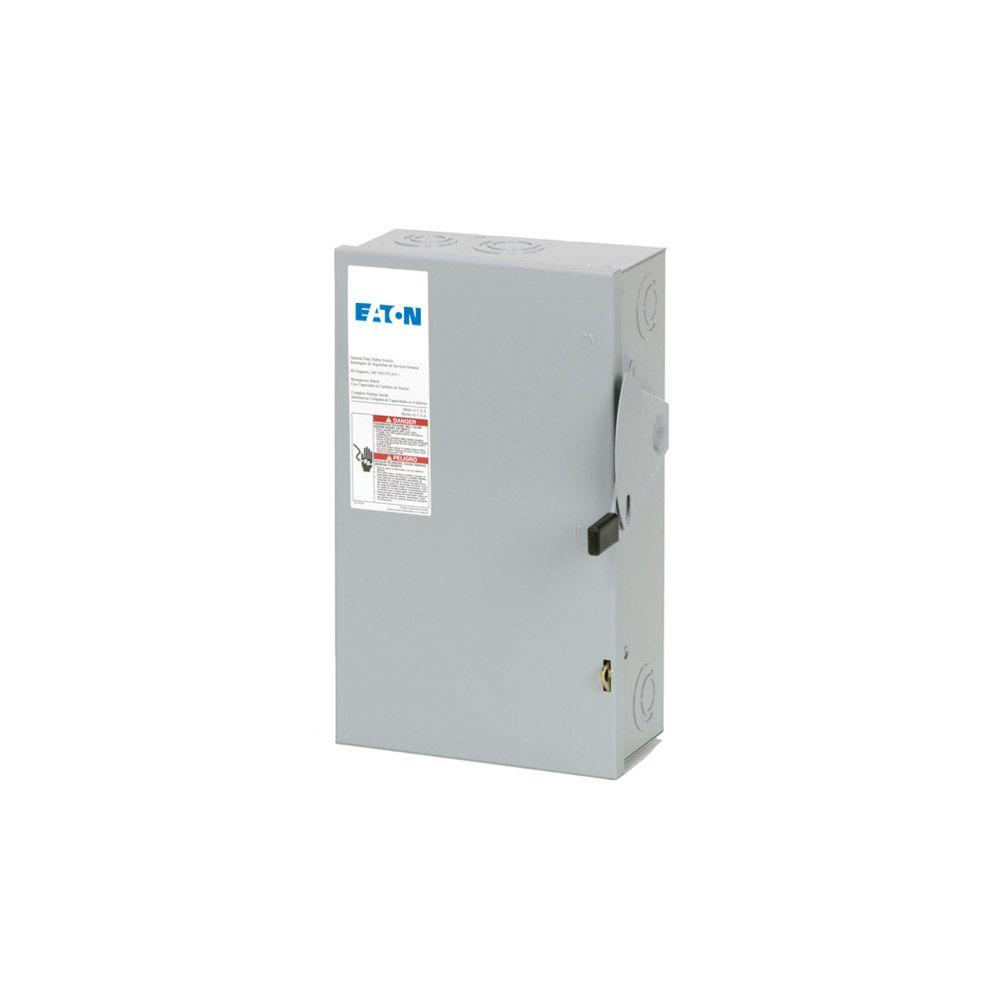 medium resolution of eaton 200 amp double pole fusible nema 3r general duty safety switch eaton 60 amp 240v disconnect wiring diagram