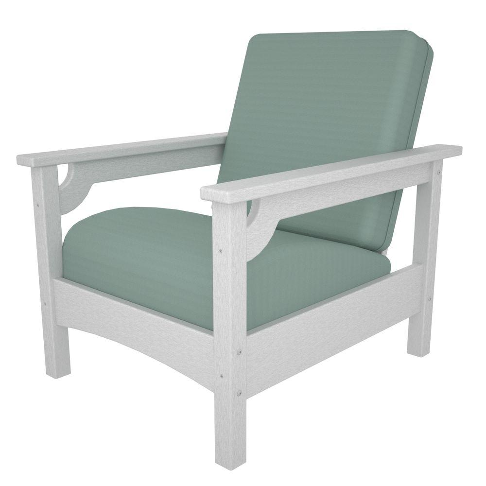 turquoise patio chairs purple chair covers amazon teal outdoor lounge the home depot club white all weather plastic with sunbrella spa cushions