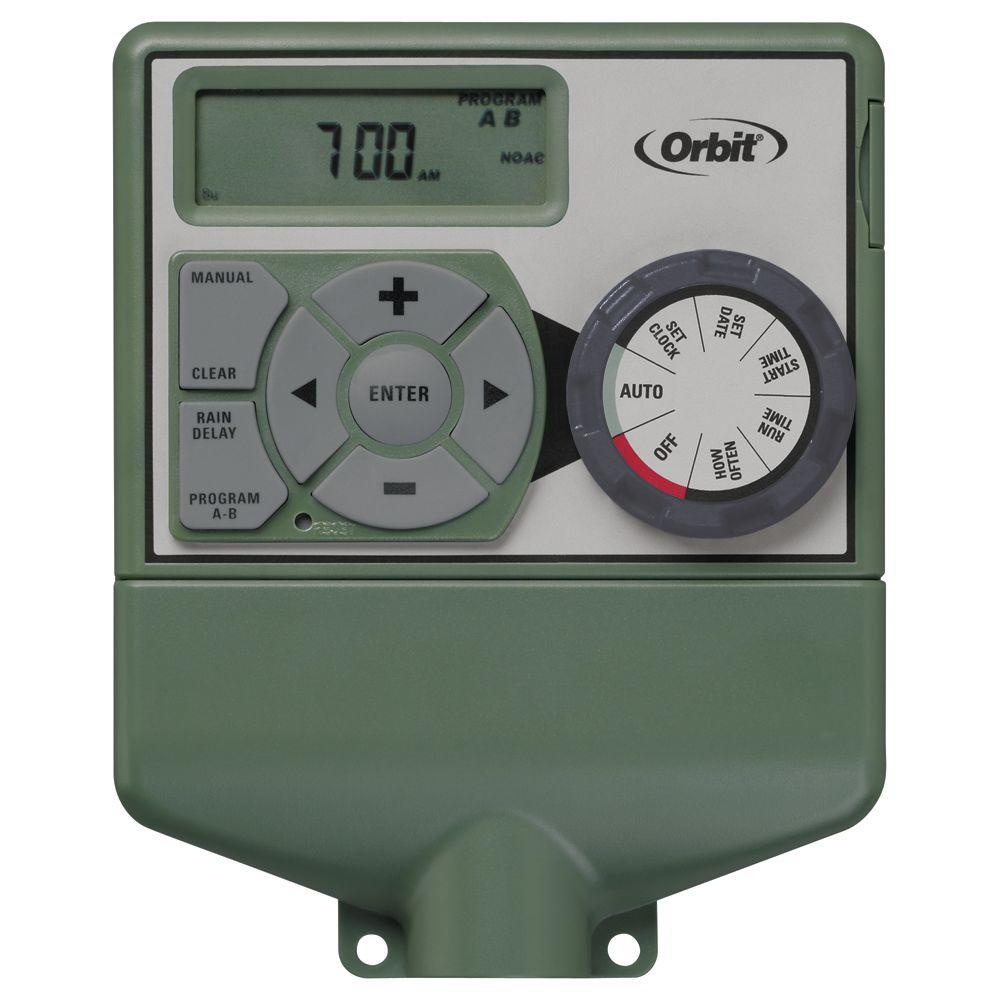 medium resolution of 4 station easy dial electrical sprinkler timer