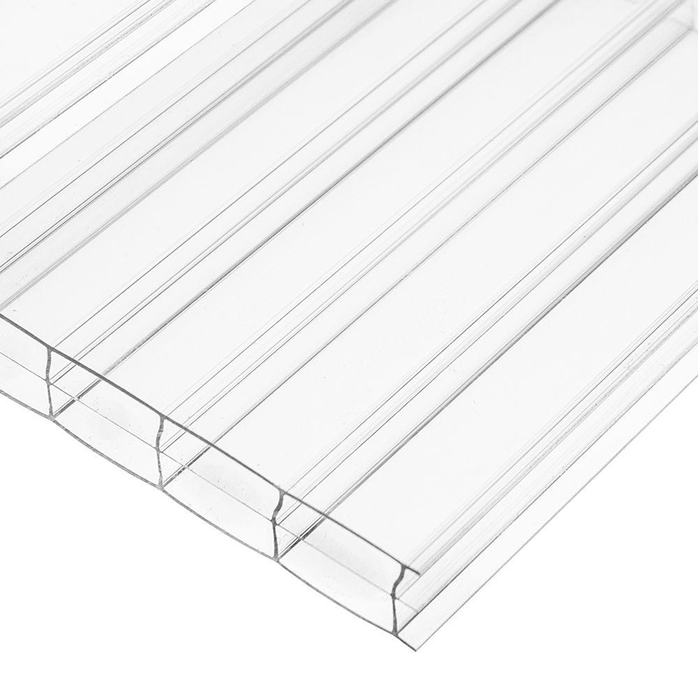 Suntuf 26 in. x 12 ft. Polycarbonate Roofing Panel in