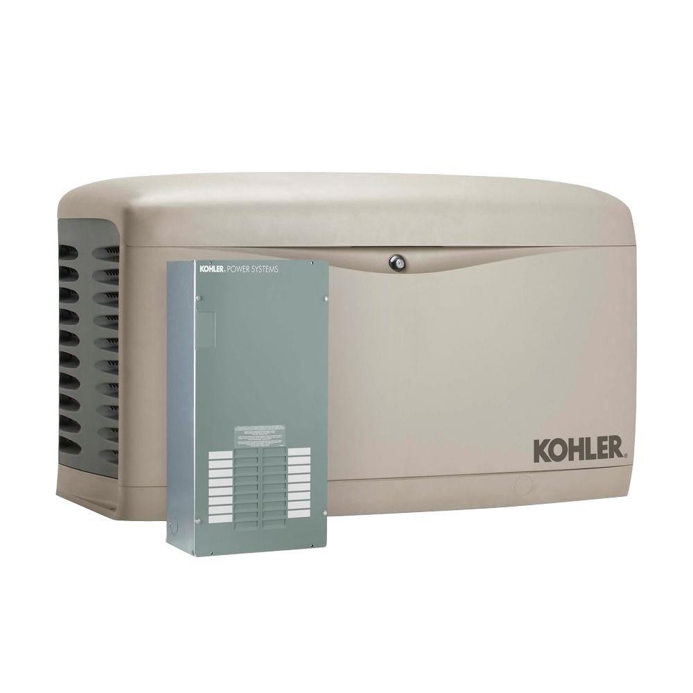 medium resolution of kohler 20 000 watt air cooled standby generator with 100 portable generator wiring diagram portable generator transfer switch wiring