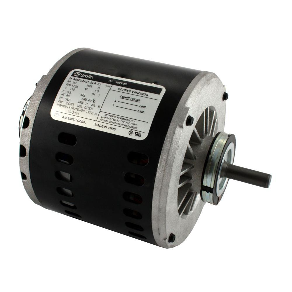 hight resolution of 1 3 hp 115 volt evaporative cooler motor single speed
