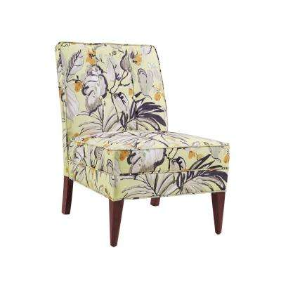 accent chair yellow can you paint a faux leather slipper fabric chairs the home carter floral