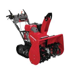 hydrostatic track drive 2 stage gas snow blower with electric joystick [ 1000 x 1000 Pixel ]