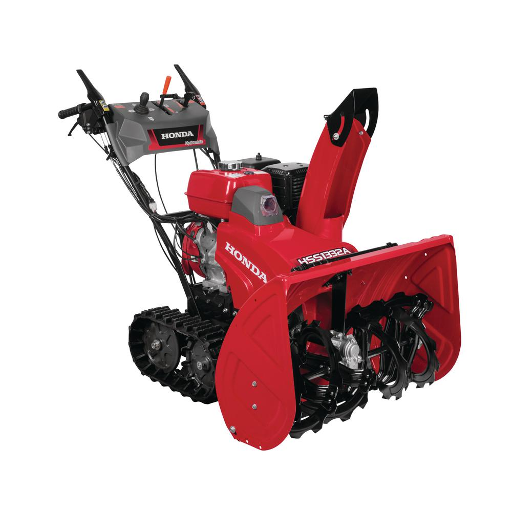 hight resolution of hydrostatic track drive 2 stage gas snow blower with electric joystick