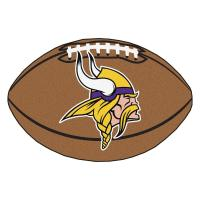 FANMATS NFL Minnesota Vikings Brown 2 ft. x 3 ft ...