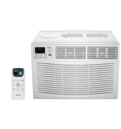 18 000 btu window air conditioner with dehumidifier and remote [ 1000 x 1000 Pixel ]