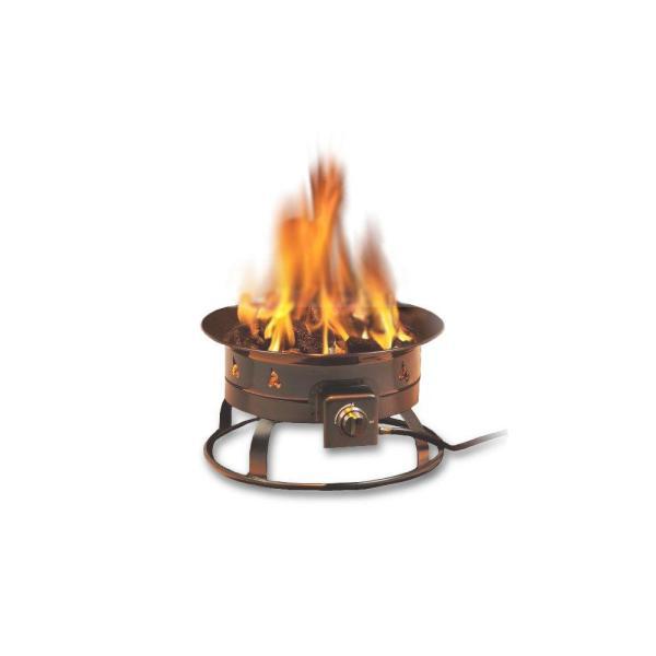 Portable Propane Gas Fire Pit-5995 - Home Depot