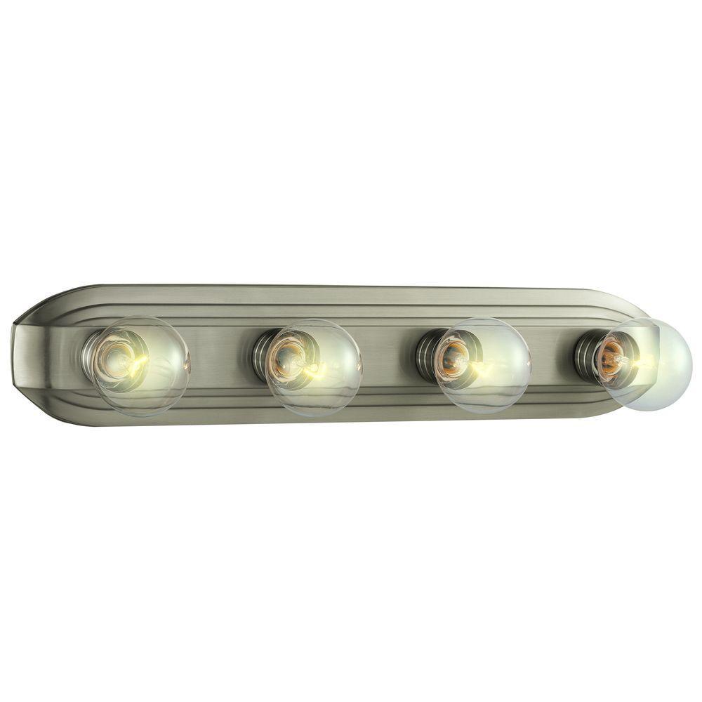 medium resolution of hampton bay 4 light brushed nickel vanity light