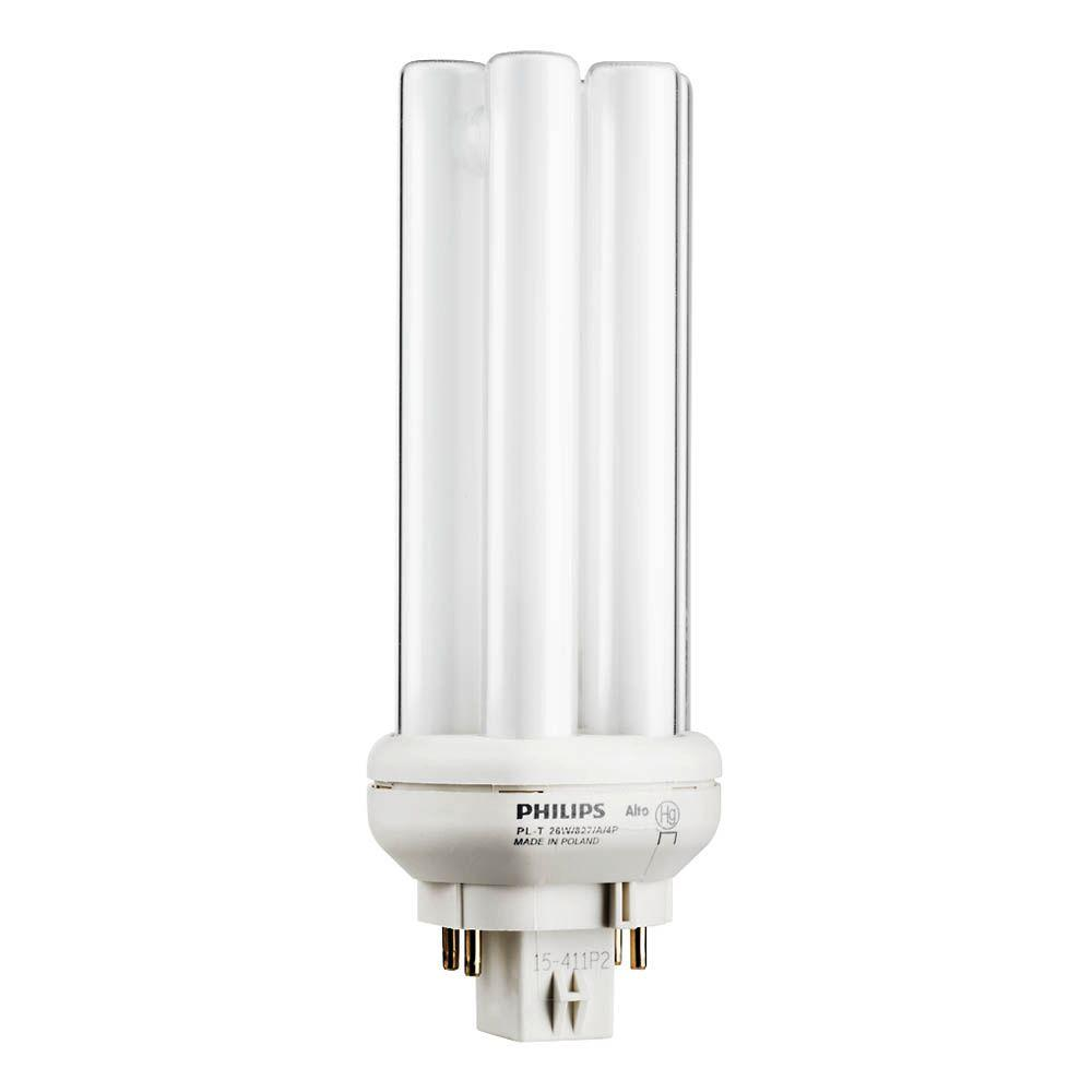hight resolution of 26 watt gx24q 3 pl t cflni quad amalgam tube 4 pin