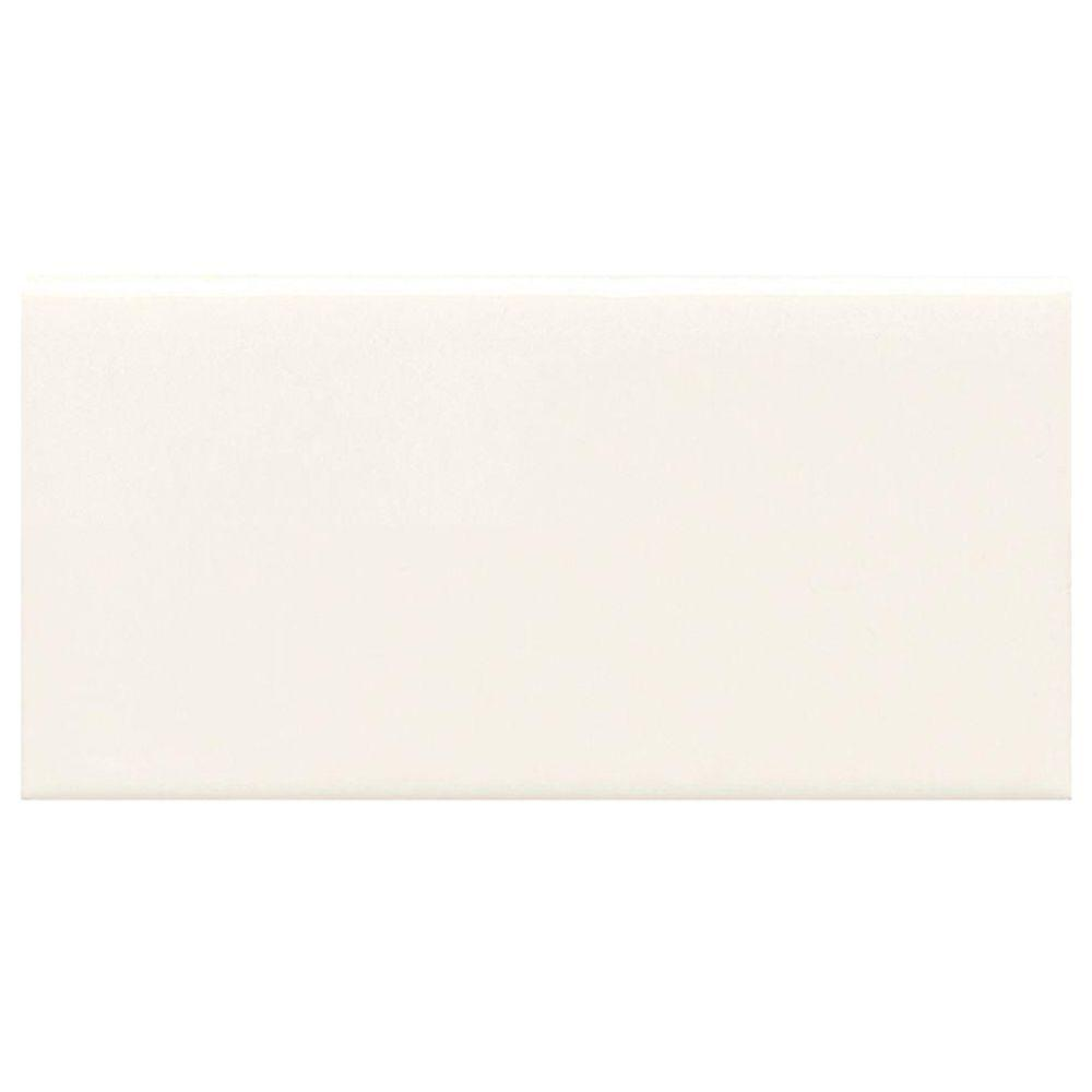 Daltile Rittenhouse Square White 3 in. x 6 in. Modular