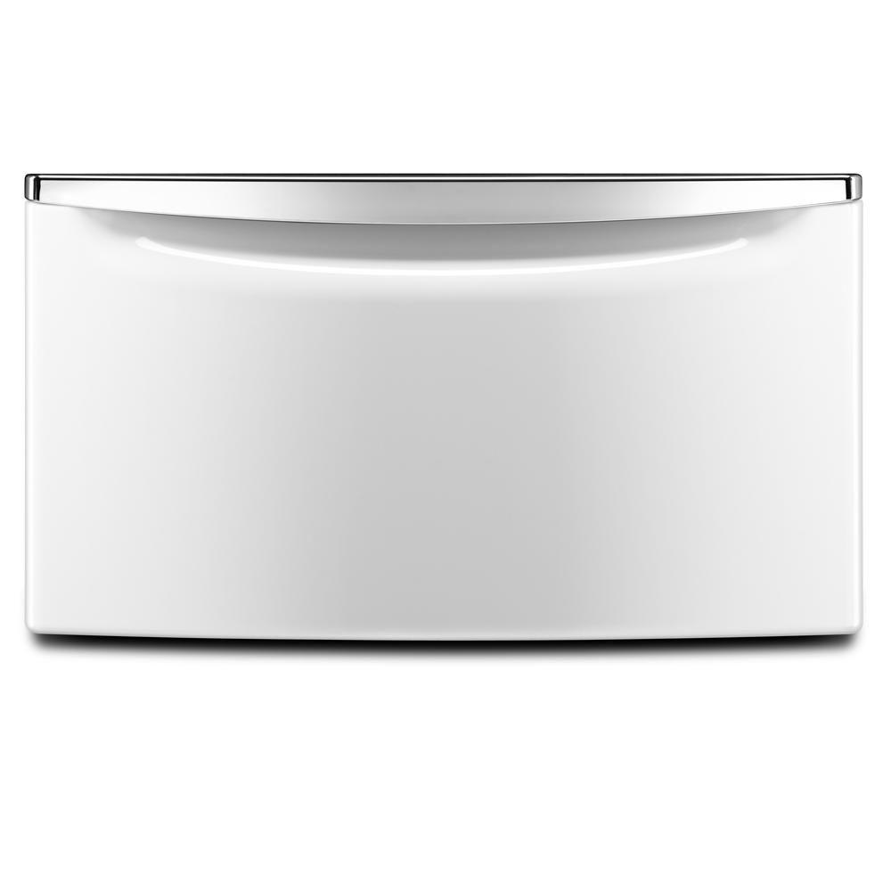 hight resolution of white pedestal for front load washer and dryer with