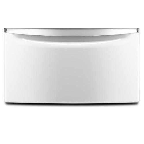 small resolution of white pedestal for front load washer and dryer with