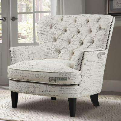 tub fabric accent chair patchwork target rope wingback chairs the home depot beige arm