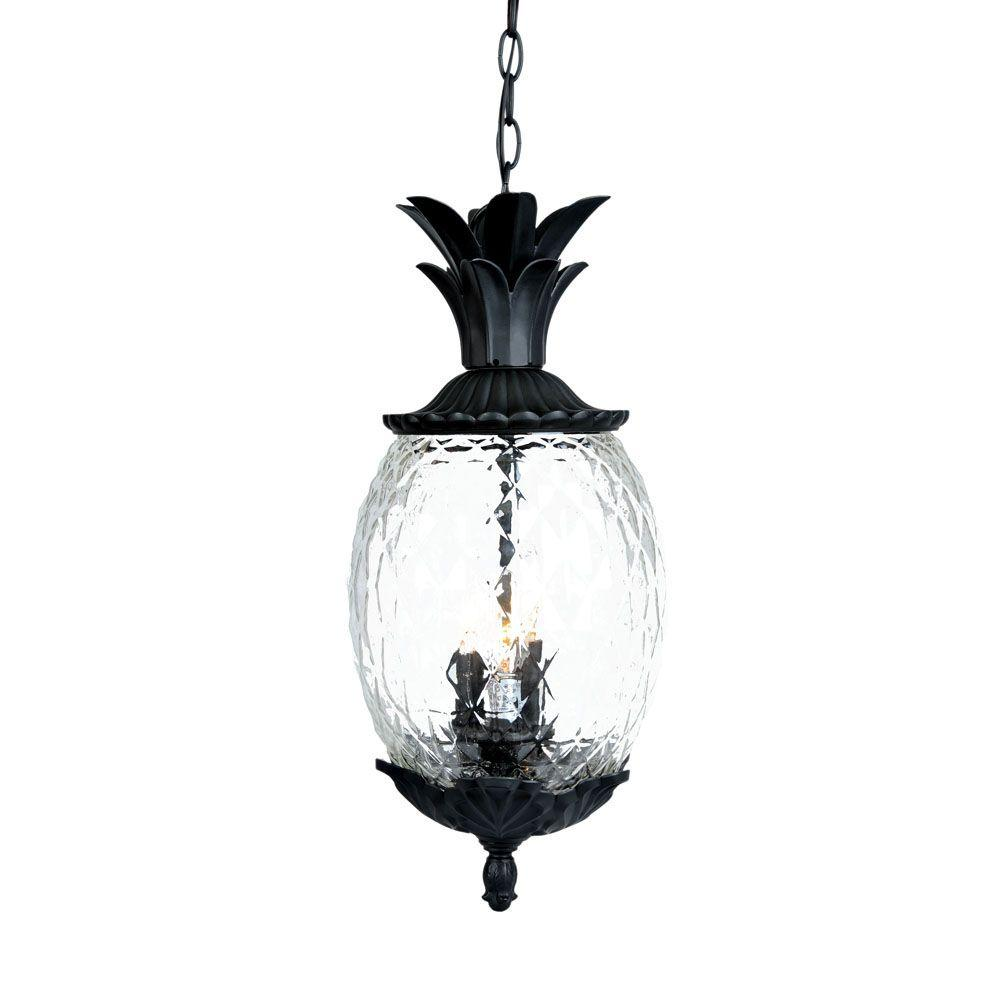 Acclaim Lighting Lanai Collection 3-Light Matte Black