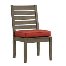 Homesullivan Verdon Gorge Gray Wood Outdoor Dining Chair