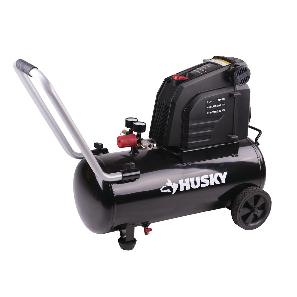 Husky Silent Flow Air Compressor
