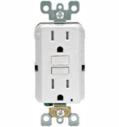 15 amp 125 volt duplex smartest self test smartlockpro tamper resistant gfci outlet white 4 pack  [ 1000 x 1000 Pixel ]