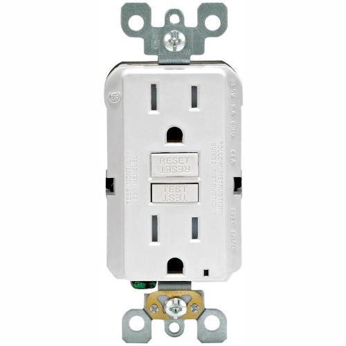 small resolution of 15 amp 125 volt duplex smartest self test smartlockpro tamper resistant gfci outlet white 4 pack