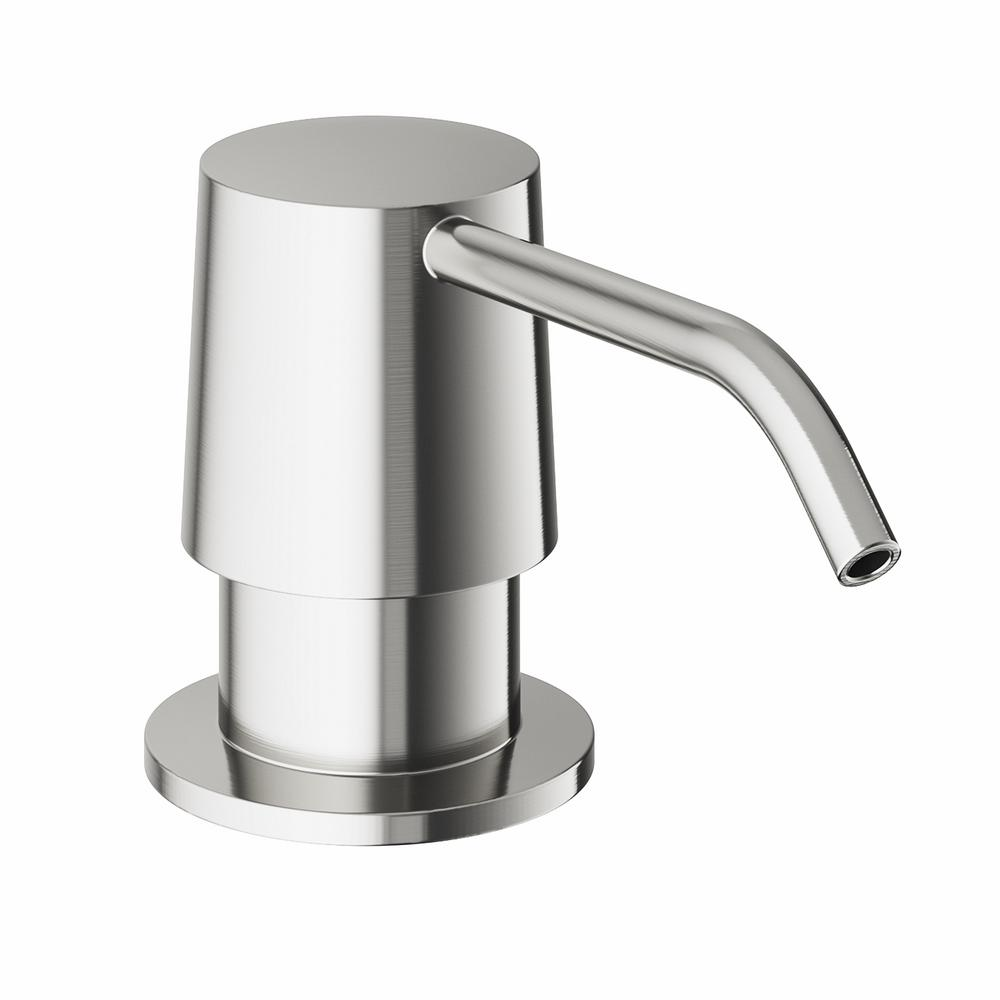 menards kitchen sink cost of building a island soap dispenser monarch heavy duty refurbishing cabinets vigo in stainless steel vgsd001st the home