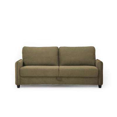 microfiber fabric sofa small living room arrangement standard sofas loveseats sheldon with storage in taupe