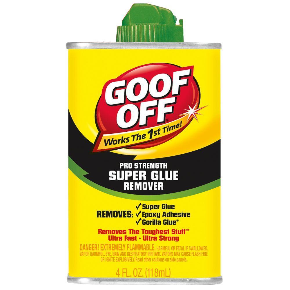 Goof Off 4 Oz Super Glue Remover
